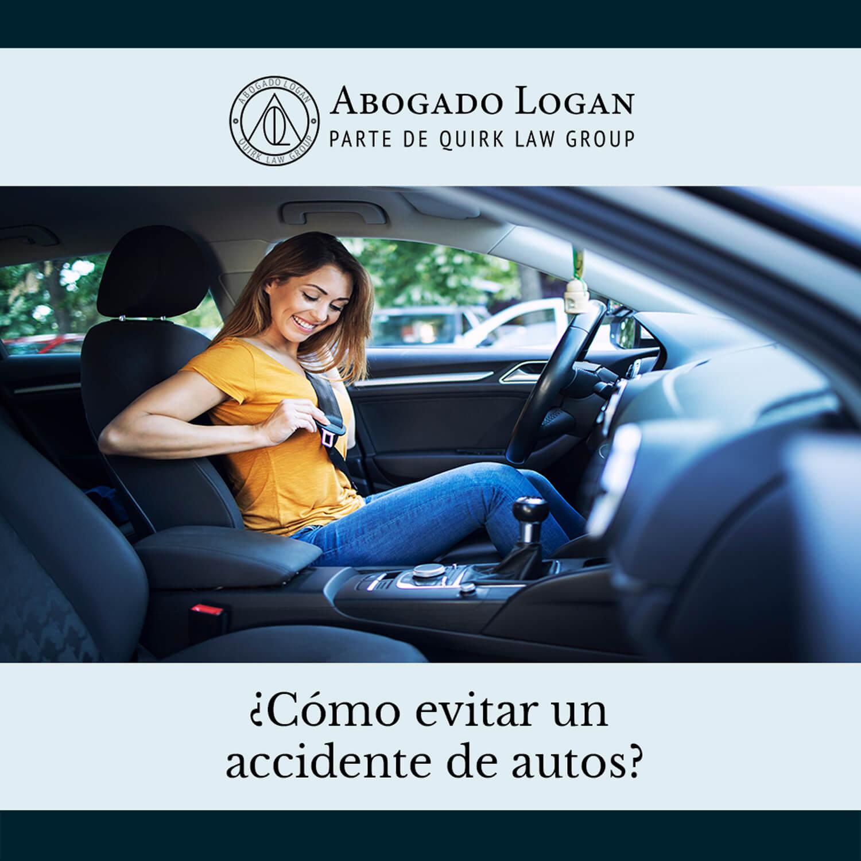 ¿Cómo evitar un accidente de autos?